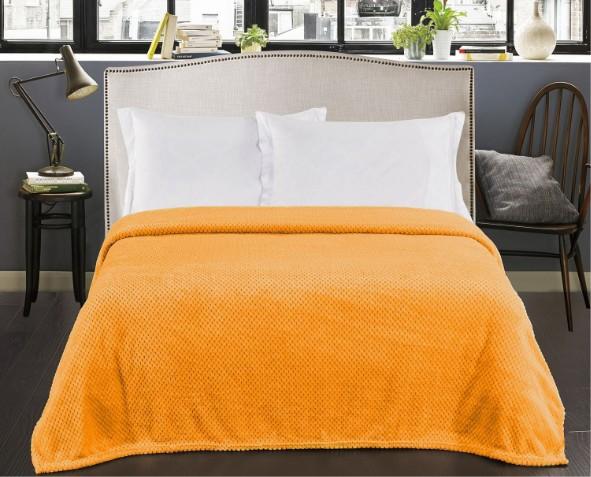 Pomarańczowy Koc Henry