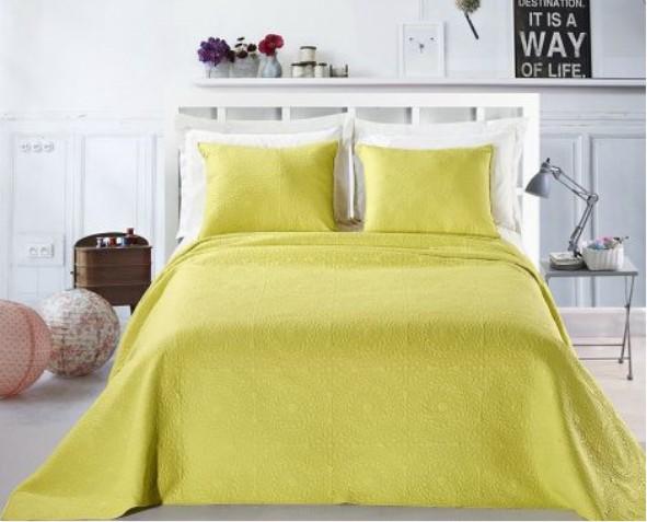 Żółta Narzuta Elodie