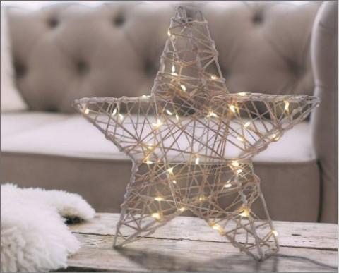 Ozdoba LED w kształcie Gwiazdki