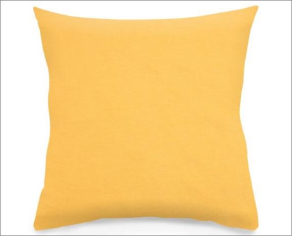 Żółta Poszewka Amber