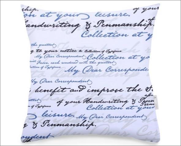 Poszewka w napisy ducato