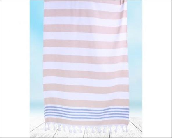 Różowy Ręcznik Santorini